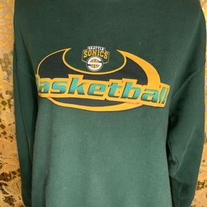Vintage Seattle Sonics Crew Neck